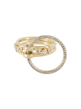 three Lovers Diamond ring