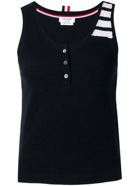 Thom Browne - Compact Waffle Tank - Women