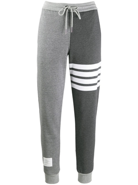 Grey double tone sweatpants