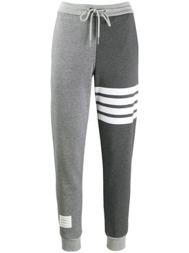 Thom Browne - Grey Double Tone Sweatpants - Women