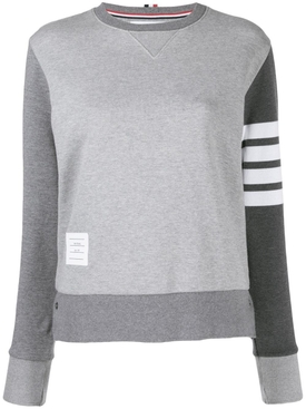 Thom Browne - Grey Relaxed-fit Sweatshirt - Women
