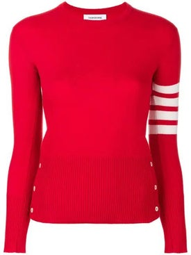 Thom Browne - Classic Crewneck Cashmere Pullover - Women