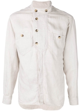 Isabel Marant - Linen Shirt White - Men