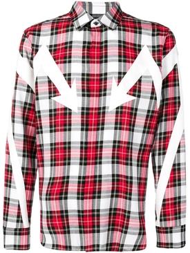 Checkered shirt RED
