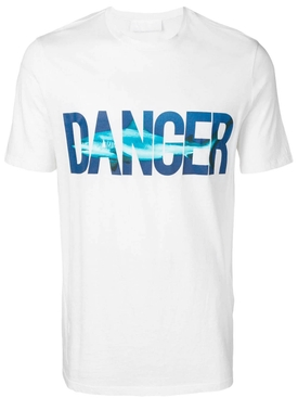 Danger beach t-shirt WHITE