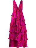 Borgo De Nor - Flavia Floral Ruffled Dress - Women