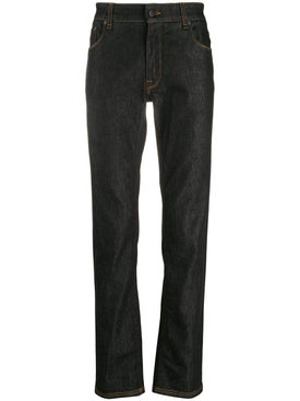 Fendi - Pocket Logo Slim Fit Jeans - Denim