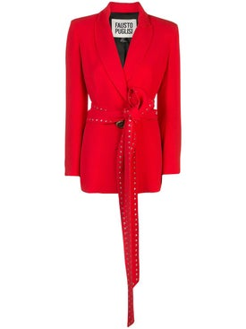 Fausto Puglisi - Bright Red Blazer - Women
