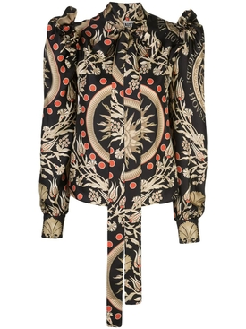 Fausto Puglisi - House Of Puglisi Silk Blouse - Women