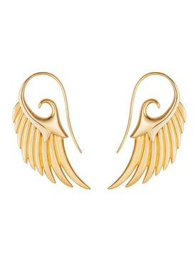 Noor Fares - Gold Fly Me To The Moon Earrings - Women