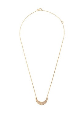 Noor Fares - Fly Me Crescent Moon Necklace - Women