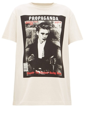 Acne Studios - Propaganda Graphic T-shirt - Women