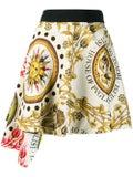 Fausto Puglisi - Sun Printed Asymmetric Mini Skirt - Women
