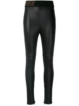 skinny-fit biker leggings