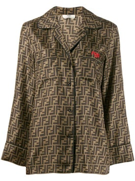 Fendi - Motif Pattern Shirt - Women