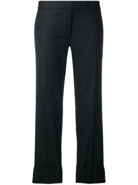 Thom Browne - Exposed Rwb Cuff Navy Trouser - Women