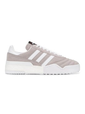 Adidas Originals By Alexander Wang - Grey Suede Bball Sneakers - Men