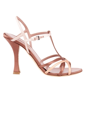CARY SANDAL, Satin