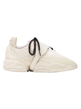 X OAMC White Type O-1 Paneled Sneakers