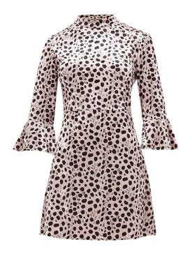 Hvn - Leopard Mini Dress - Women