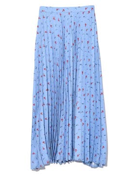Hvn - Blue Tracy Skirt - Women