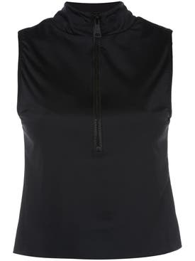 Natasha Zinko - Colorblock Zipped Sleeveless Top - Women