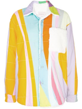 Natasha Zinko - Rainbow Teddy Jacket - Women