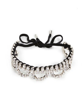 Area - Scalloped Choker Clear - Women