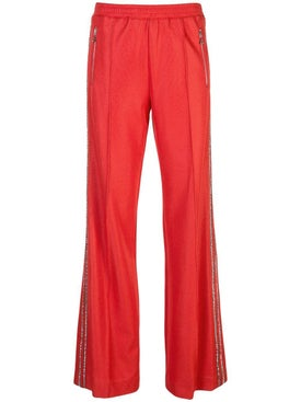 Area - Embellished Side Stripe Pants - Women