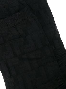 Sheer FF Motif Socks BLACK