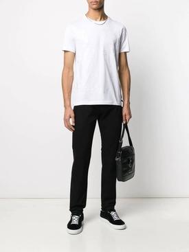 FF tonal logo t-shirt WHITE