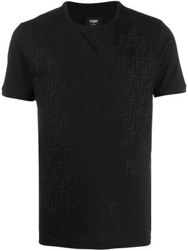 FF tonal logo t-shirt BLACK