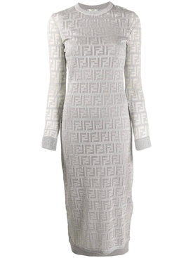 Fendi - Ff Logo Print Dress - Women