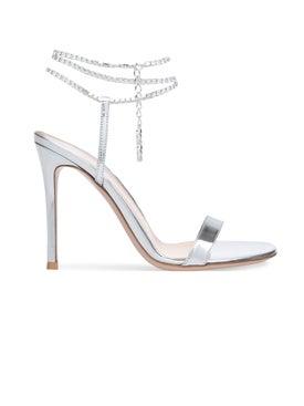 Gianvito Rossi - Serena Crystal Ankle Sandal - Women