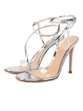 Gianvito Rossi - Silver Strappy Sandals - Women