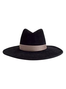 Jeanne Fedora Hat Black