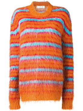 Marni - Striped Multicolor Knitted Sweater - Women
