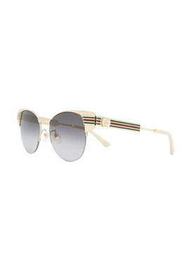 Vintage Look Metal Frame Sunglasses