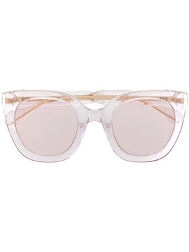 Gucci - Clear Frame Cat-eye Sunglasses - Sunglasses