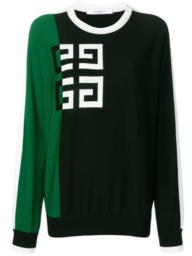 Givenchy - Gg Logo Jumper Green - Women