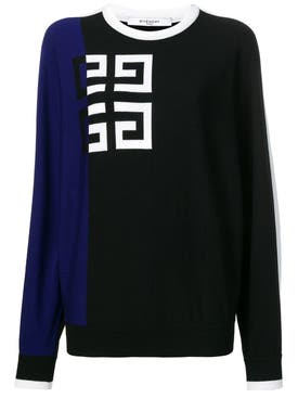 Givenchy - Gg Logo Jumper Blue - Women