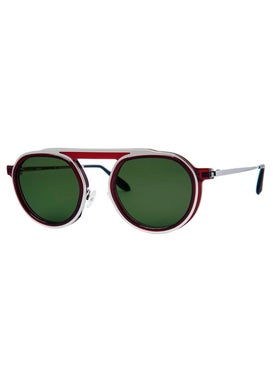 Thierry Lasry - Burgundy Ghosty Sunglasses - Men