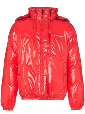 Givenchy - Front Logo Multi Zip Puffer Jacket - Women