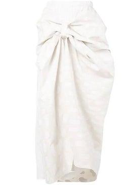 Marni - Knot Detail Skirt - Midi