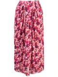 Marni - Pixel Print Pleated Skirt - Women