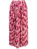 Marni - Pixel Print Pleated Skirt - Women