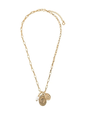 The Webster X Goossens Double Medal Talisman Necklace