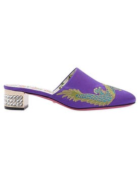 Gucci - Dragon Mule Purple - Women