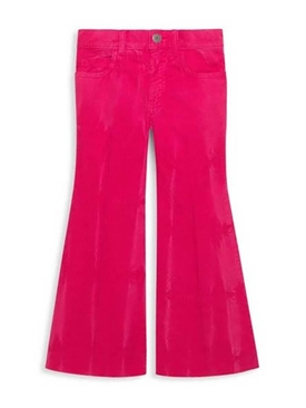 butterfly embellished Corduroy pants PINK