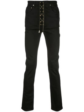 Garcons Infideles - Lace-up Front Jeans - Men